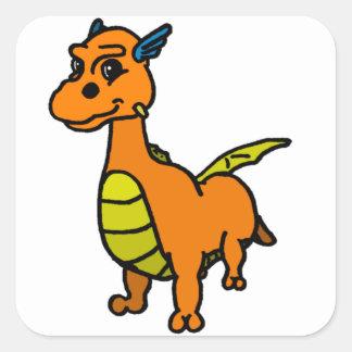 Taut Square Sticker