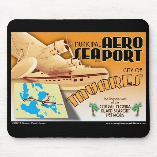 Tavares AeroSeaport mouse pad