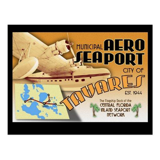 Tavares AeroSeaport post cards