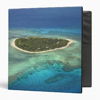 Tavarua Island and coral reef, Mamanuca Islands Binders