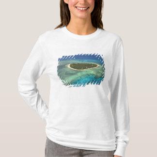Tavarua Island and coral reef, Mamanuca Islands T-Shirt