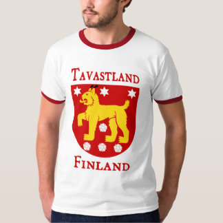 Tavastland (Häme) (Tavastia), Finland (Suomi) T-shirt