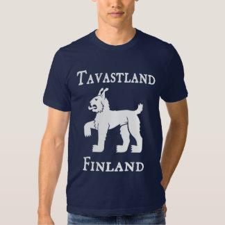 Tavastland (Tavastia) (Häme), Finland (Suomi) T-shirt