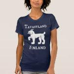 Tavastland (Tavastia) (Häme), Finlandia (Suomi) Camisetas