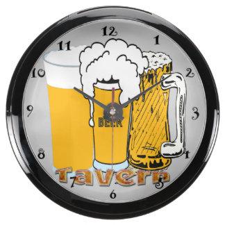 Tavern - Beer Aqua Clock