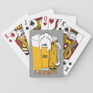 Tavern - Beer Playing Cards