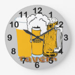 Tavern - Beer Round Wall Clock