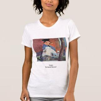 Tavern By Manet Edouard Tshirt