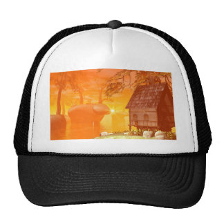 Tavern on the rock by the lake trucker hat