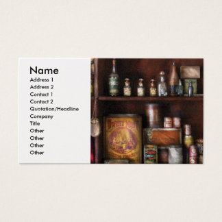 Tavern - Rum and Tobacco Business Card
