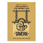 Tavern Sign Invitation