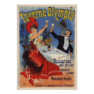 Taverne Olympia Poster