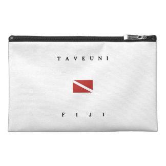 Taveuni Fiji Scuba Dive Flag Travel Accessory Bags
