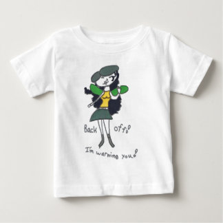 Tavi Diva Back Off Picture Baby T-Shirt