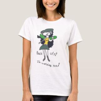 Tavi Diva Back Off Picture T-Shirt