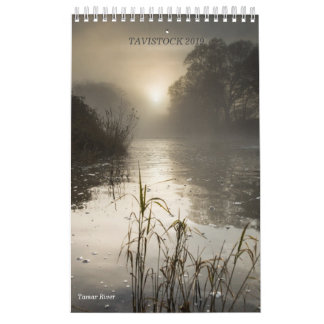Tavistock 2019 A3, Calendar by Maggie McCall