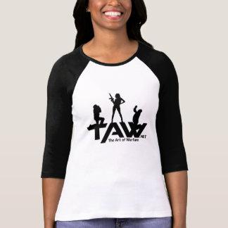 TAW Girl Power 3/4 Sleeve T-Shirt