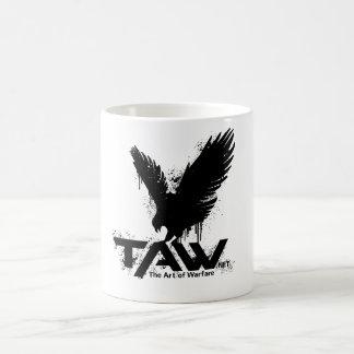 TAW Hawk Mug - White