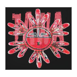 Tawa Kachina Canvas Print