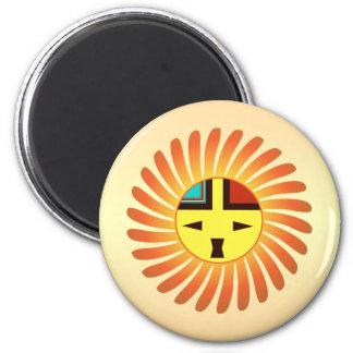 Tawa Kachina - Sunface Refrigerator Magnet