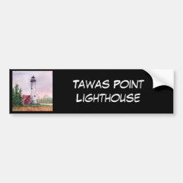 Tawas Point Light, Bumper Sticker