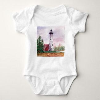 Tawas Point Light Infant Baby Bodysuit