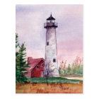 Tawas Point Light Postcard