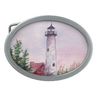 Tawas Point Lighthouse Belt Buckle