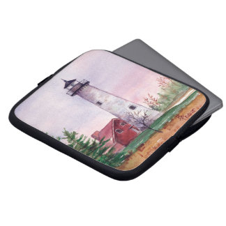 Tawas Point Lighthouse Laptop Sleeve