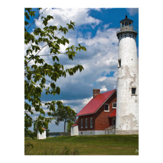 Tawas Point Lighthouse Letterhead