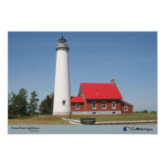 Tawas Point Lighthouse - Michigan Poster