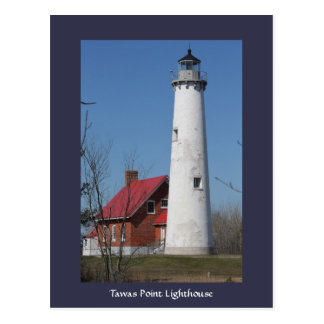 Tawas Point Lighthouse postcard