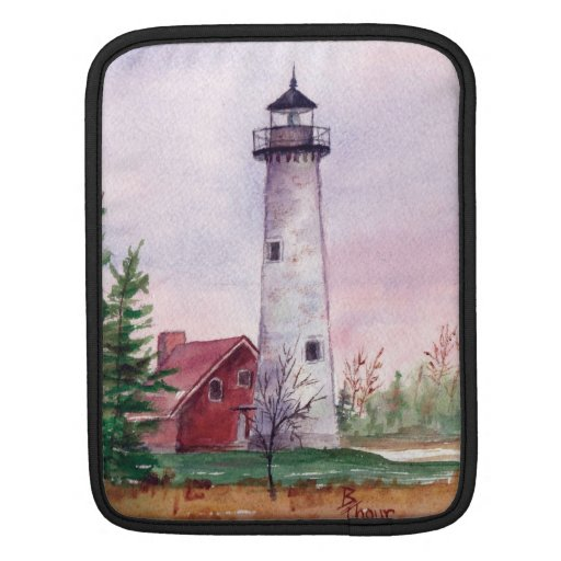 Tawas Point Lighthouse Sleeve For MacBook Air