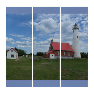 Tawas Point Lighthouse Triptych