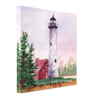 Tawas Point Wrapped Canvas Print
