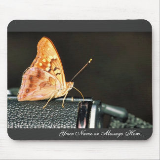 Tawny emperor mouse pad