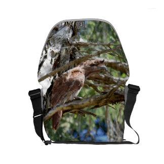 TAWNY FROGMOUTH RURAL QUEENSLAND AUSTRALIA SMALL MESSENGER BAG