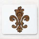 Tawny Gold Goth Mouse Pad