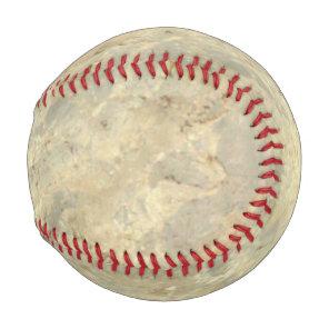 Tawny Gold Streaked marble stone finish Baseball