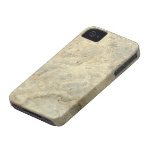 Tawny Gold Streaked marble stone finish Case-Mate iPhone 4 Case