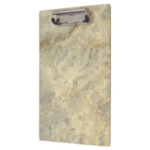 Tawny Gold Streaked marble stone finish Clipboard
