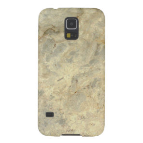 Tawny Gold Streaked marble stone finish Galaxy S5 Cover