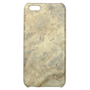 Tawny Gold Streaked marble stone finish iPhone 5C Cover
