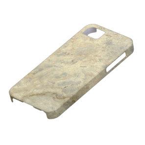 Tawny Gold Streaked marble stone finish iPhone SE/5/5s Case