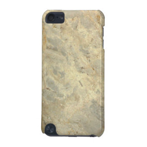 Tawny Gold Streaked marble stone finish iPod Touch (5th Generation) Cover