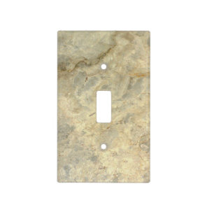 Tawny Gold Streaked marble stone finish Light Switch Cover