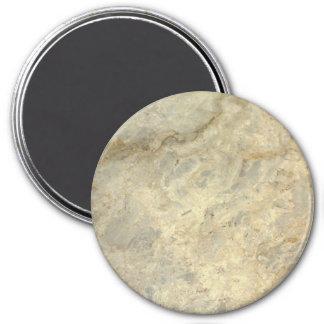 Tawny Gold Streaked marble stone finish Fridge Magnet