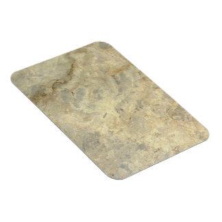 Tawny Gold Streaked marble stone finish Rectangle Magnets