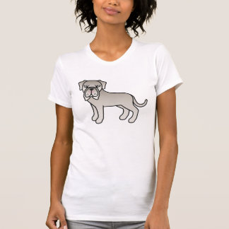 Tawny Neapolitan Mastiff Cartoon Dog T-Shirt