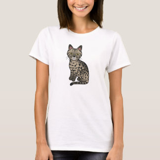 Tawny Ocicat Cat T-Shirt